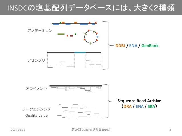 [DDBJing29]DDBJ Sequence Read Archive (DRA) の紹介 Slide 2