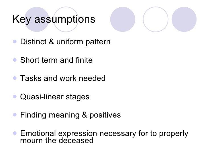 Key assumptions <ul><li>Distinct & uniform pattern </li></ul><ul><li>Short term and finite </li></ul><ul><li>Tasks and wor...