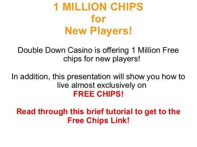1 million free doubledown casino chips