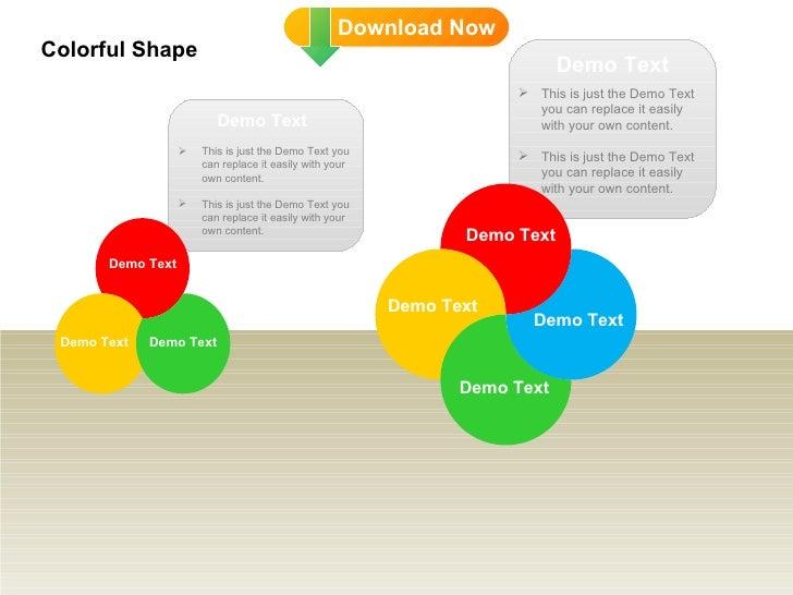 DD Colorful Shape Slide 2