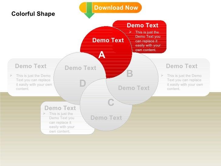 DD Colorful Shape Slide 3