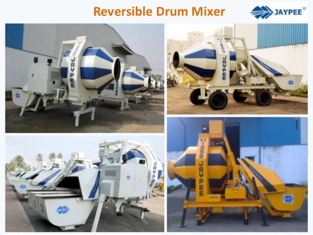 Reversible Drum Mixer