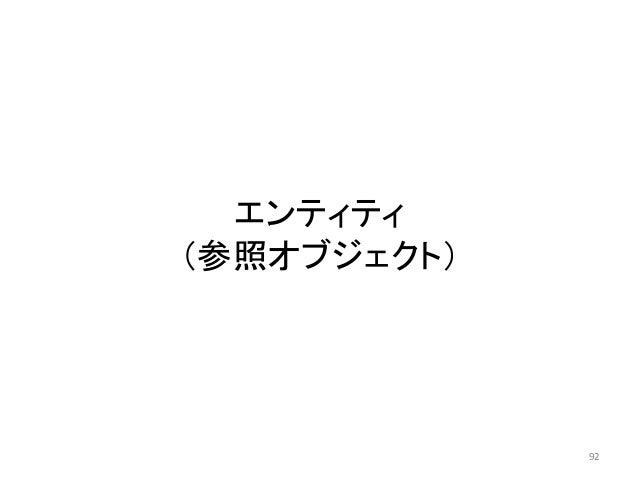 エンティティ (参照オブジェクト) 92