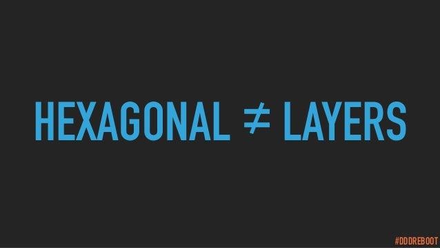 #DDDREBOOT HEXAGONAL ≠LAYERS