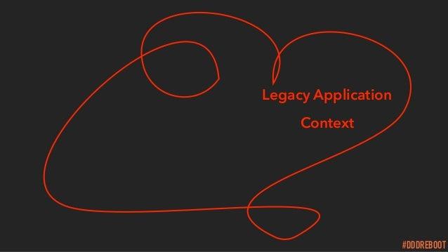#DDDREBOOT Legacy Application Context