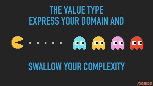 #DDDREBOOT THE VALUE TYPE EXPRESS YOUR DOMAIN AND SWALLOW YOUR COMPLEXITY