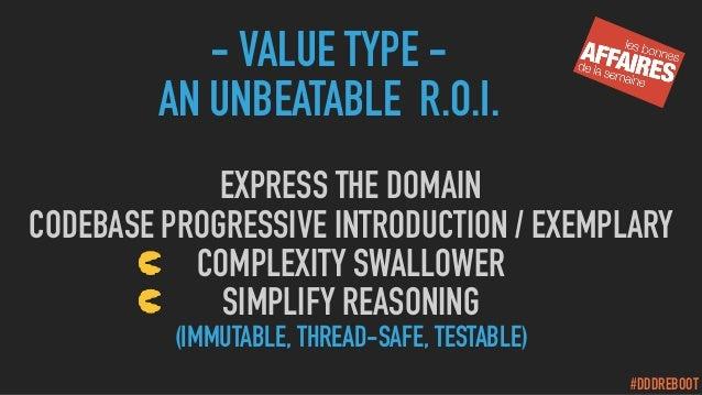 #DDDREBOOT EXPRESS THE DOMAIN CODEBASE PROGRESSIVE INTRODUCTION / EXEMPLARY COMPLEXITY SWALLOWER SIMPLIFY REASONING (IMMUT...