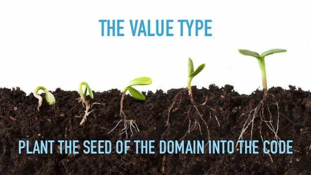 #DDDREBOOT PLANT THE SEED OF THE DOMAIN INTO THE CODE THE VALUE TYPE