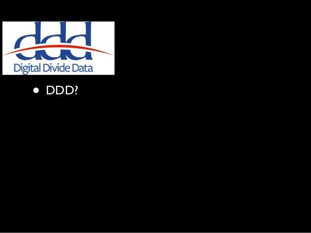 • DDD? • DDD? • DDD? • DDD?