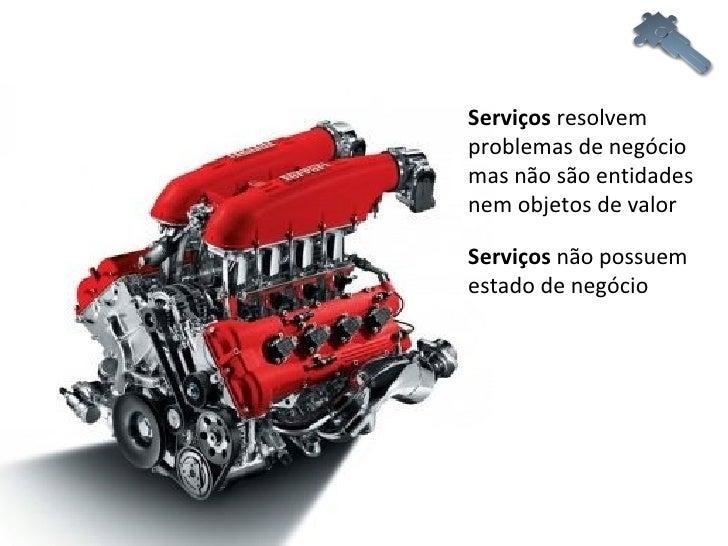 Serviços  resolvem problemas de negócio mas não são entidades nem objetos de valor Serviços  não possuem estado de negócio