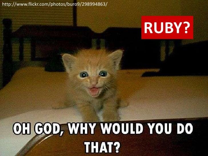 http://www.flickr.com/photos/buro9/298994863/<br />RUBY?<br />