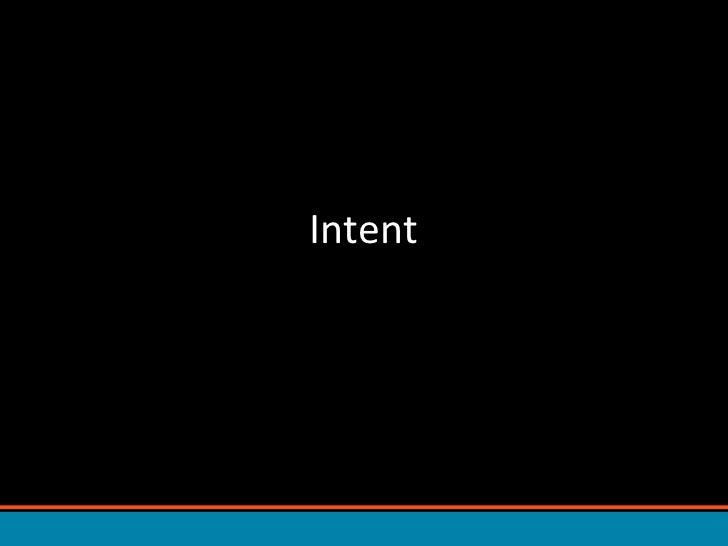 Intent<br />