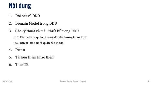 Domain Driven Design Introduction Slide 2
