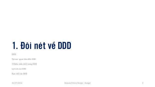 Domain Driven Design Introduction Slide 3