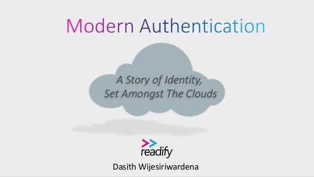 Dasith Wijesiriwardena A Story of Identity, Set Amongst The Clouds