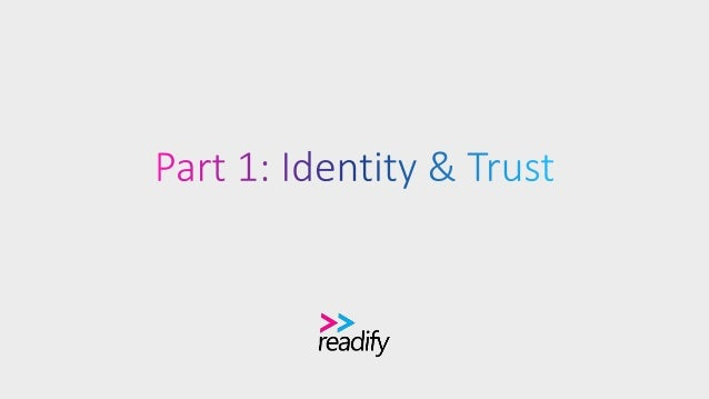 Definitions Identity: Unique name of a person, device, or combination of both. Authentication: Process of verifying that i...