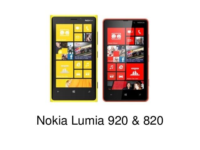 Nokia Lumia 920 & 820