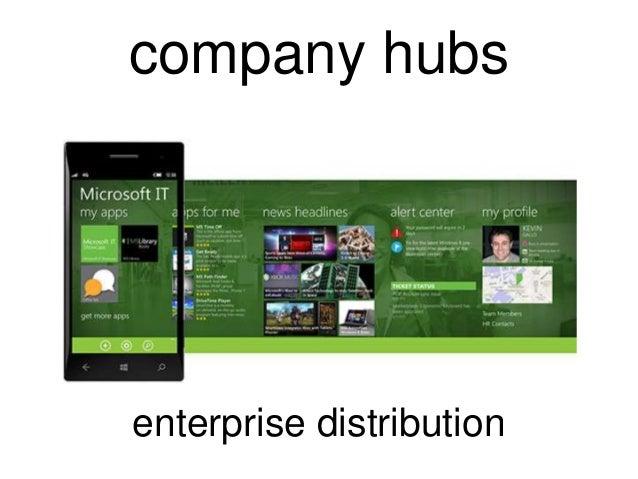 company hubsenterprise distribution