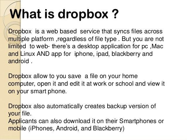 dropbox by ramanjeet lamba