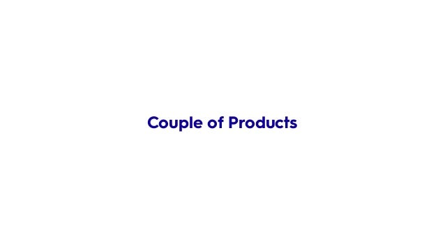 Couple of Products