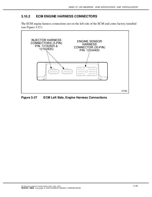 Ddec 4 Wiring Diagram - Wiring Diagrams Ddec Engine Wiring Diagram on