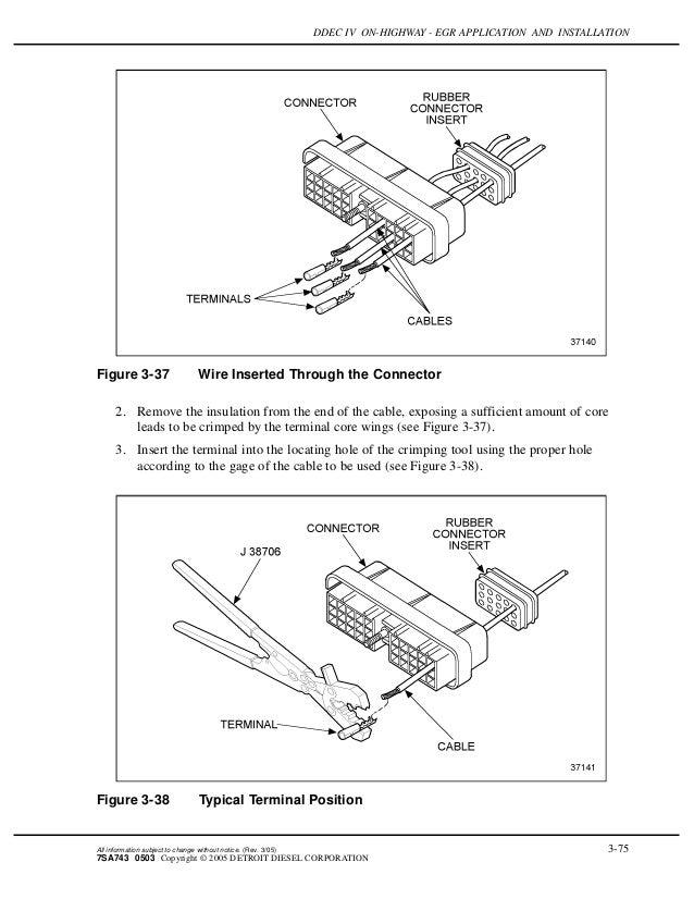 Ddec iv on highway - egr application and installation Ddec Iv Wiring Diagram Pin on