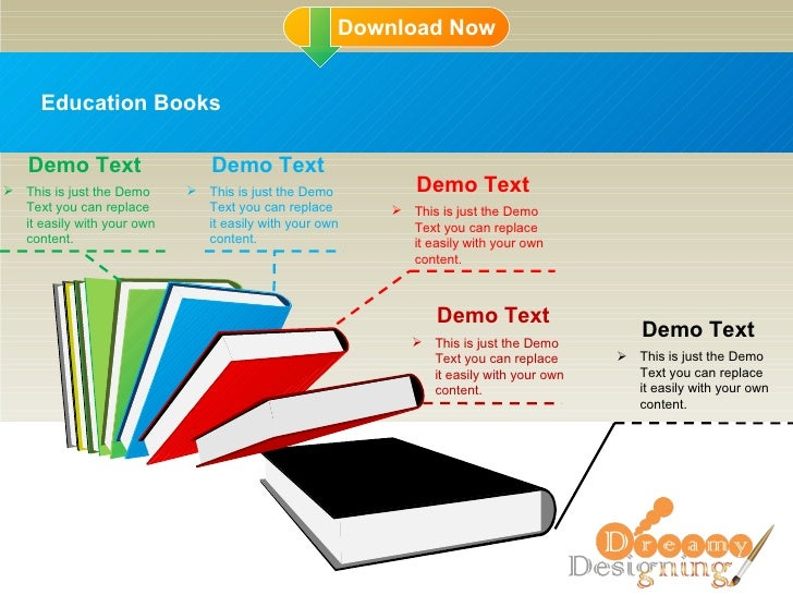 Education Books <ul><li>This is just the Demo Text you can replace it easily with your own content. </li></ul>Demo Text <u...