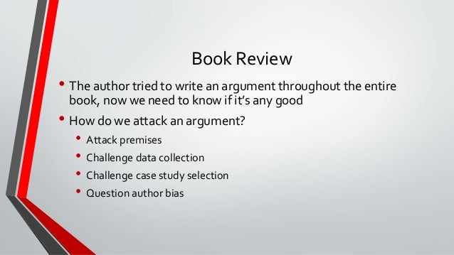 how to do a good book review