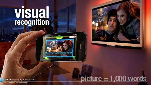 visualrecognition 72 @DeanDonaldson | http://NothingToHide.Us © 2015 DeanDonaldson.com | All Rights Reserved picture = 1,0...