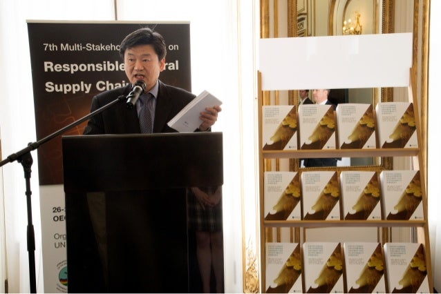 Photos of the launch of the OECD Due Diligence Guidance in Mandarin - 26 May 2014
