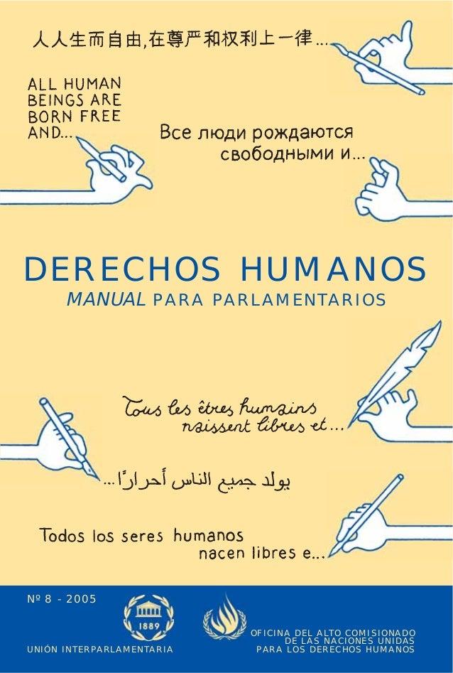 DERECHOS HUMANOS - MANUAL PARA PARLAMENTARIOS                                                                             ...