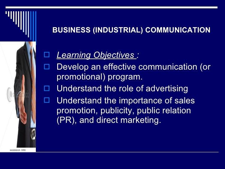 <ul><li>Learning Objectives  : </li></ul><ul><li>Develop an effective communication (or promotional) program. </li></ul><u...