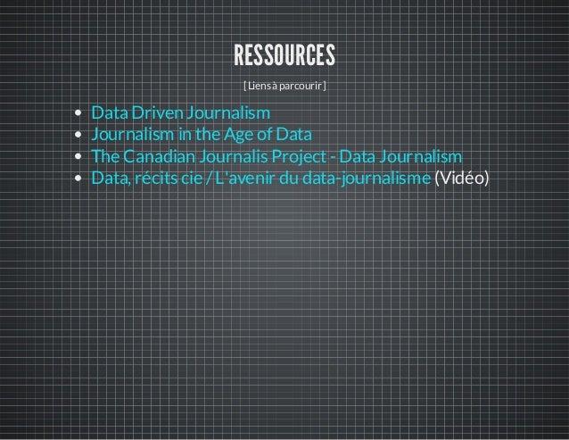 Le journalisme de données... par où commencer?
