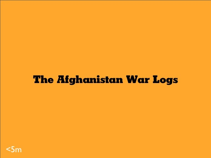 The Afghanistan War Logs The Maps