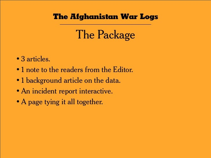 Real Titles   Stylized NYT Redactions   The Jargonizer   Real Summaries   The Afghanistan War Logs / The Interactive