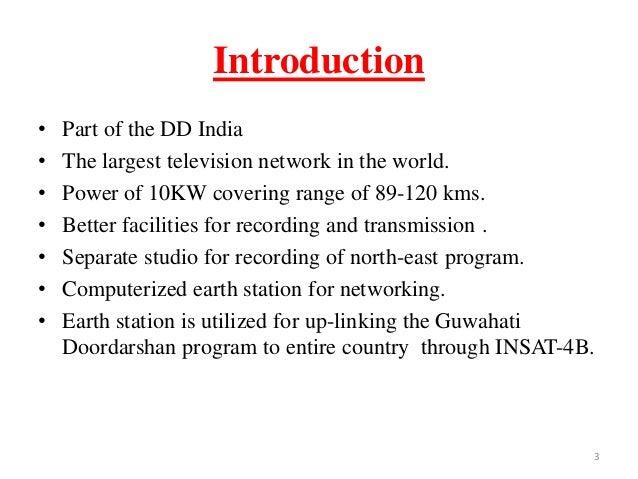 television broadcasting Slide 3