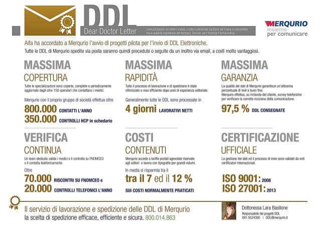Dear Doctor Letter Aifa Ha Accordato A Merqurio Iawi0 Di Progetti Pilota Per L