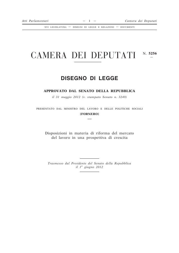 Atti Parlamentari                         —   1   —                       Camera dei Deputati              XVI LEGISLATURA...