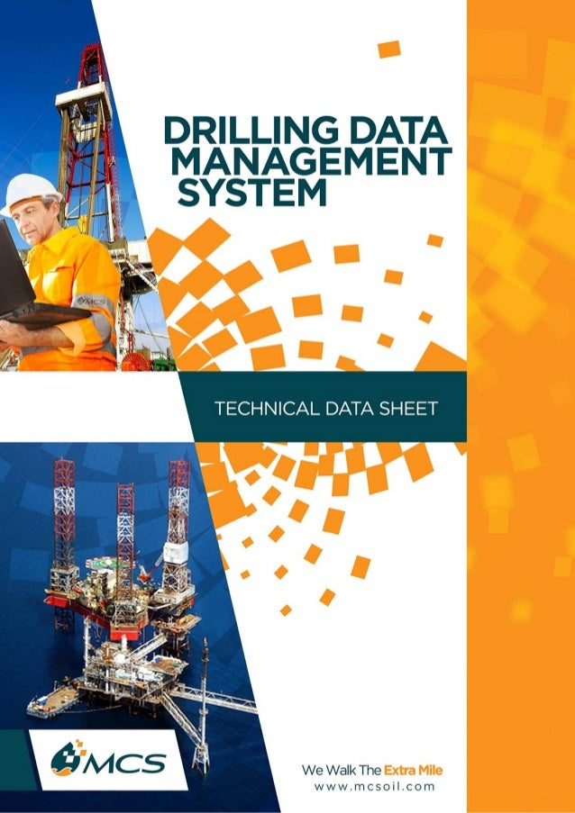 MCS - Drilling Data Management System