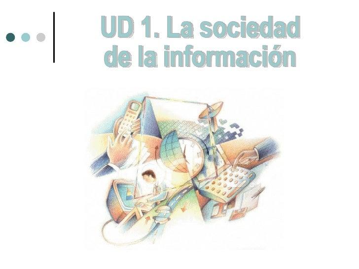 UD 1. La sociedad de la información
