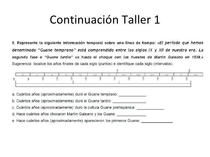 Continuación Taller 1