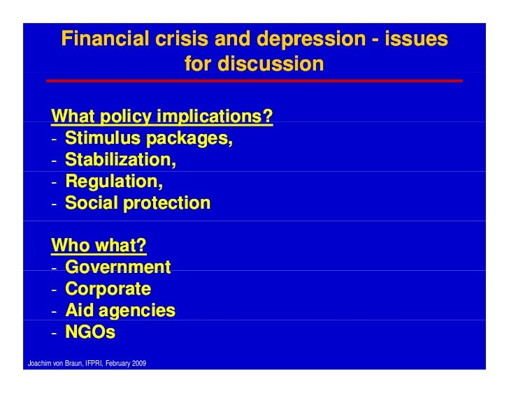 A discussion on the inflation crisis