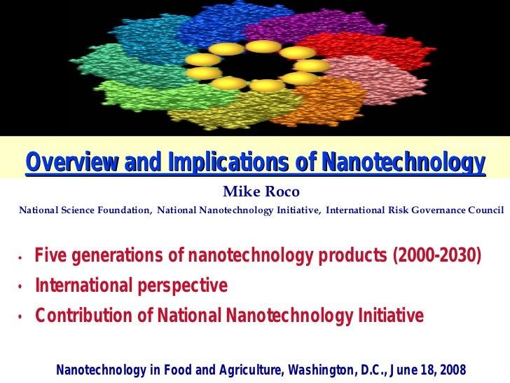 F. Frankel - copyright       Overview and Implications of Nanotechnology                                           Mike Ro...