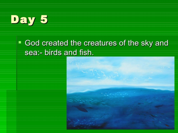 The Christian Creation Story