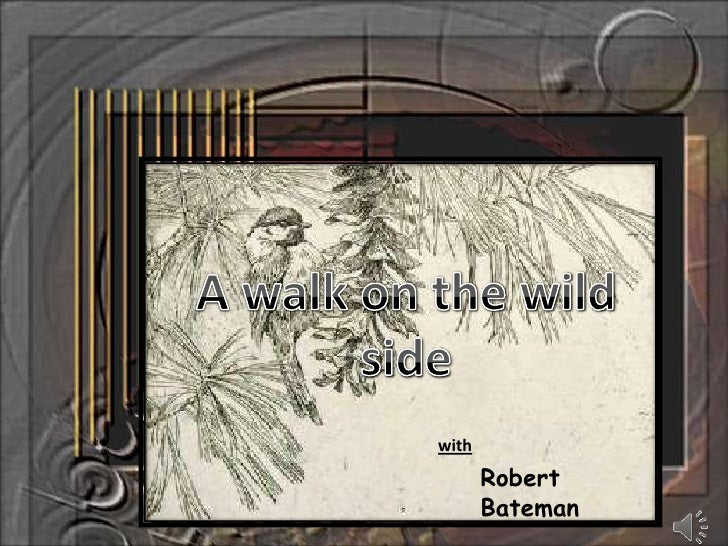 A walk on the wild side<br />with<br />Robert Bateman<br />
