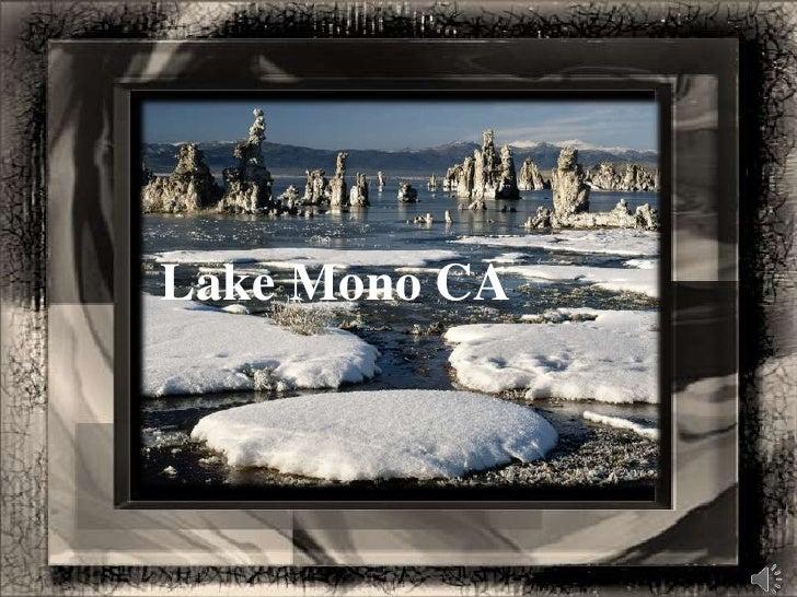 Lake Mono CA<br />