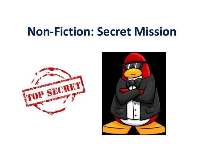 Non-Fiction: Secret Mission