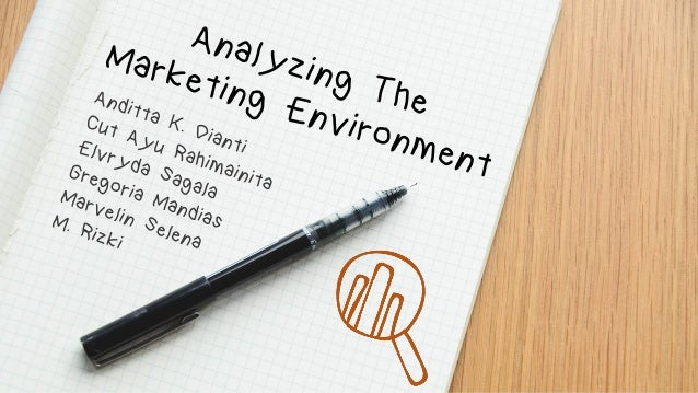 Analyzing The Marketing Environment How companies deal with the changing marketing environment