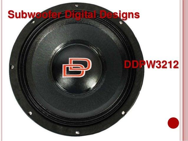 Subwoofer Digital Designs DDPW3212