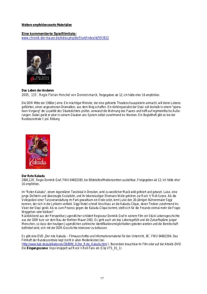 Fantastisch Gegen Jede Regel Film Arbeitsblatt Galerie - Super ...